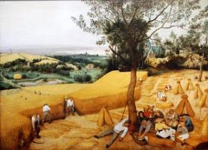 Pieter Bruegel The Harvesters protestant reformation
