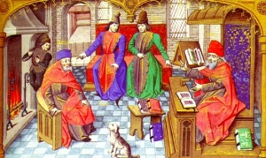 medieval-university-life-professors-students