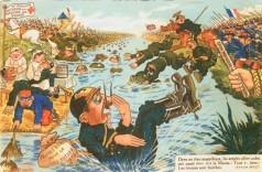 The German armies cross the Marne.