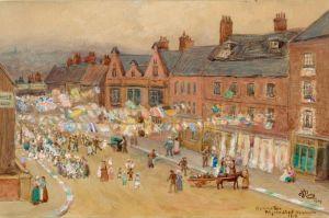 Victory Tea street 1919