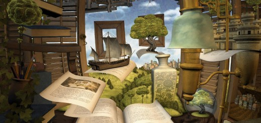 Lost in a Good Book v2 by Perry Edwards 3D - posted 7th May 2009