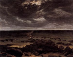 Seashore_with_Shipwreck_by_Moonlight