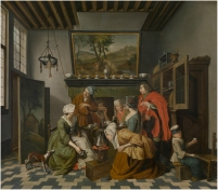 Jan Josef Horemans (II) - Tea Time - 18th century