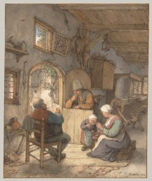Adriaen van Ostade (Dutch, Haarlem 1610–1685 Haarlem) Date: 1673.