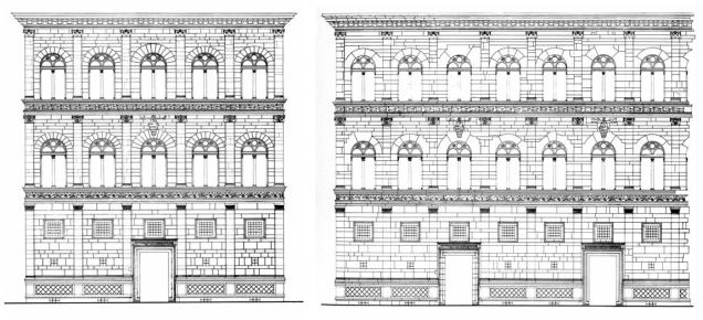 Palazzo Rucellai - Leon Battista Alberti