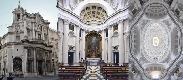 Francesco Borromini, byname of Francesco Castelli, was an Italian architect born in today's Ticino who, with his contemporaries Gian Lorenzo Bernini and Pietro da Cortona, was a leading figure in the emergence of Roman Baroque architecture.