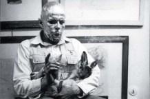 How to Explain Pictures to a Dead Hare (German: wie man dem toten Hasen die Bilder erklärt) was a performance piece enacted by the German artist Joseph Beuys on 26 November 1965 at the Galerie Schmela in Düsseldorf.